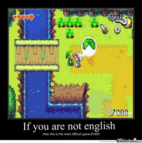 If You Are Not English...