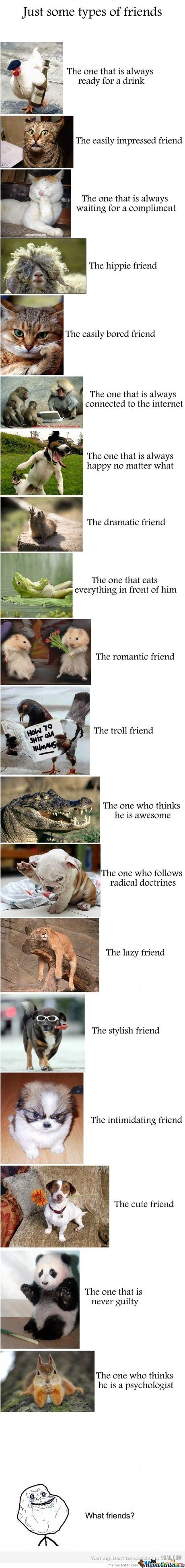 Types Of Friends
