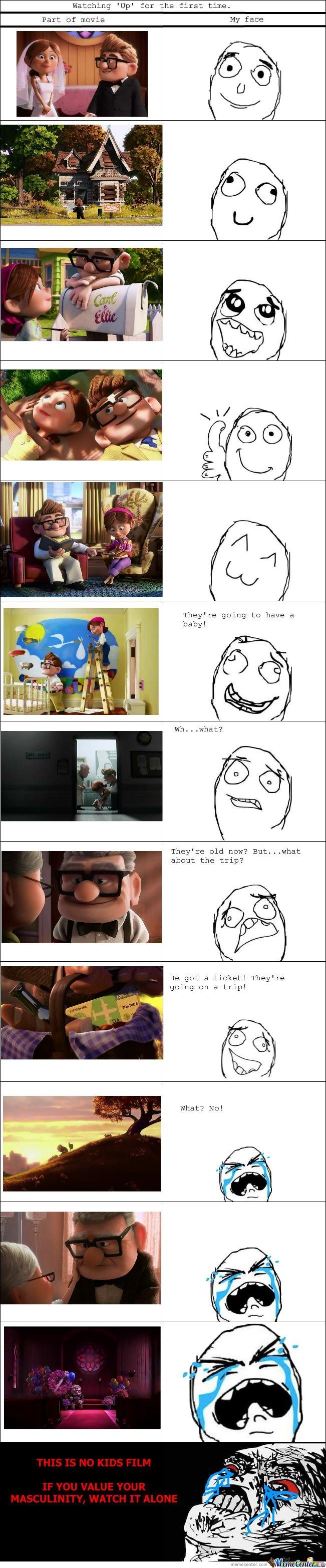 Up - Not a movie for manly men