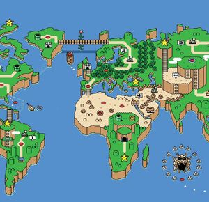 Video Game World Map by ben   Meme Center