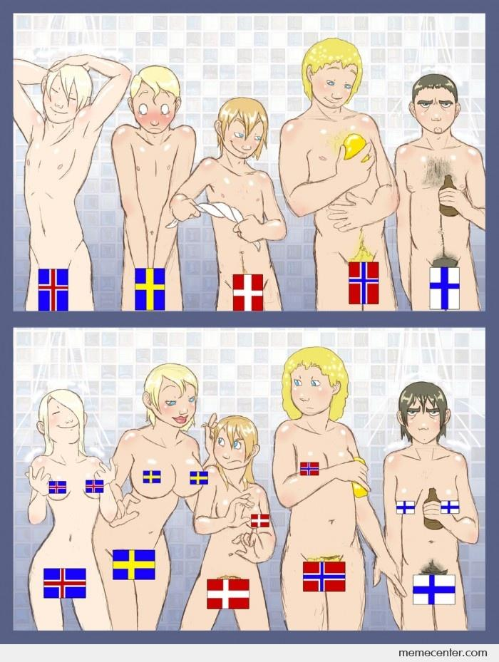 difference between denmark and england
