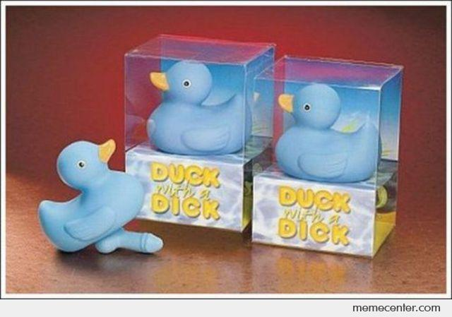 WTF Toy: Duck With a Dick