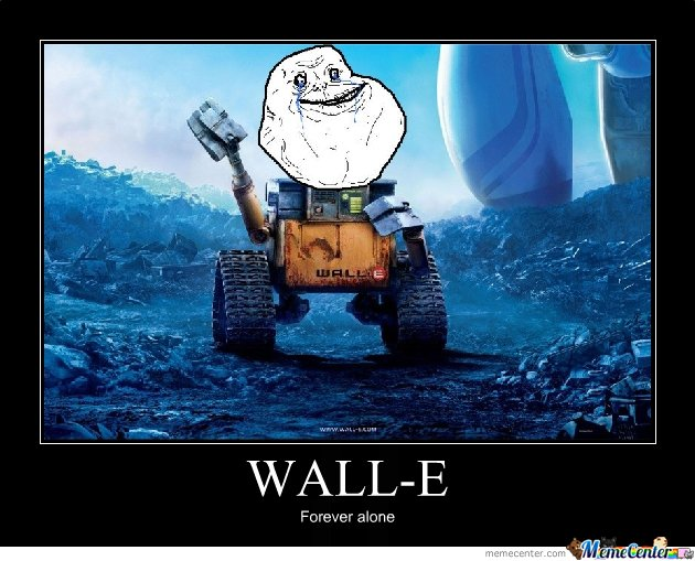 Wall-E Forever alone