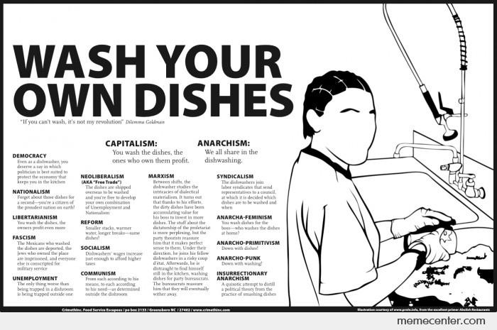 Wash Your Own Dishes By Ben Meme Center