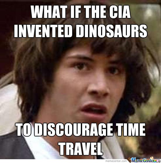 What If The CIA Invented The Dinasours