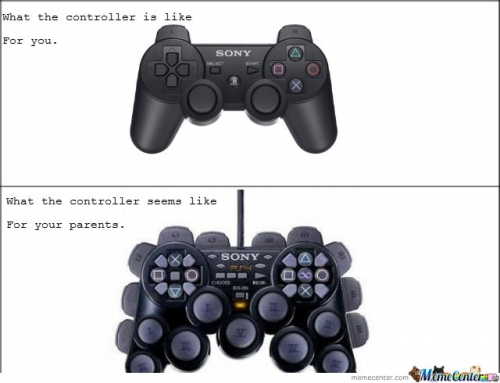 What The Controller Is Like For You & For Your Parents