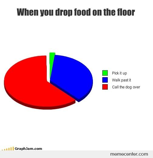 When You Drop Food On The Floor By Ben Meme Center