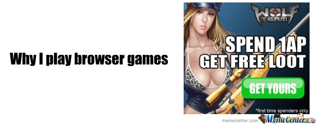 Why I play browser games