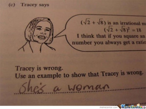 Why Tracy is Wrong?
