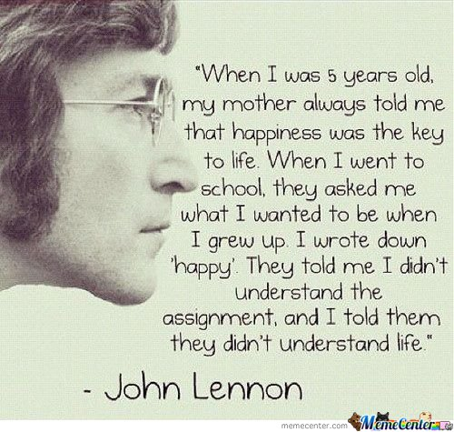 Wise Words From Lennon