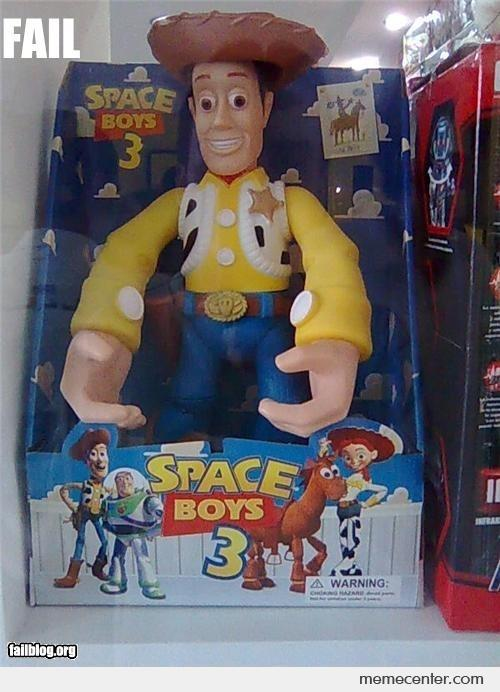 Woody Doll FAIL