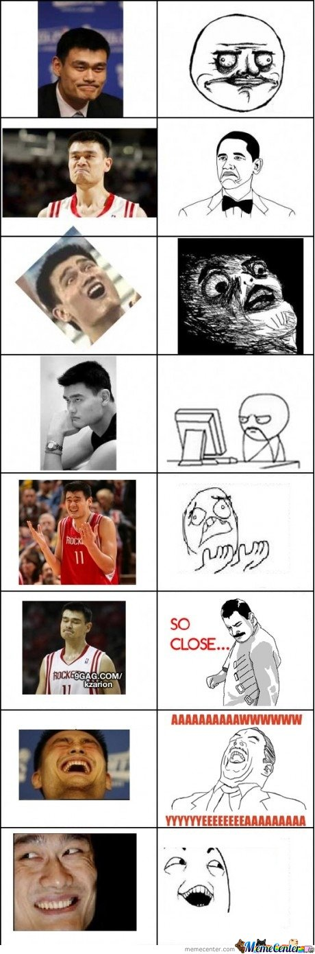 Yao can do all of them