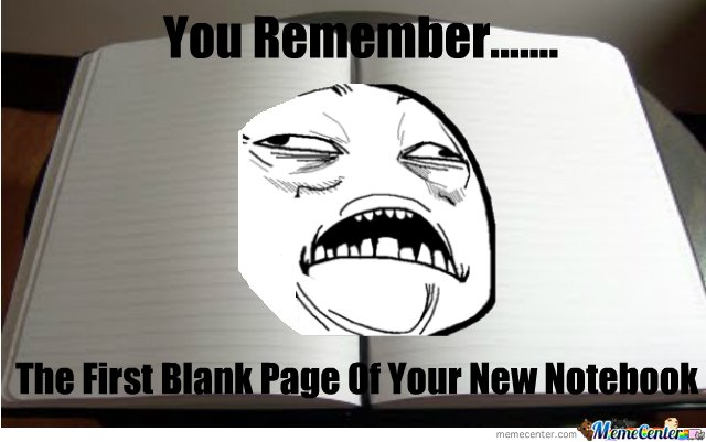 You Remember...
