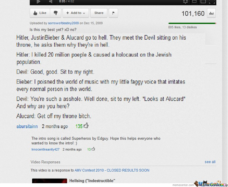 Youtube comments <3