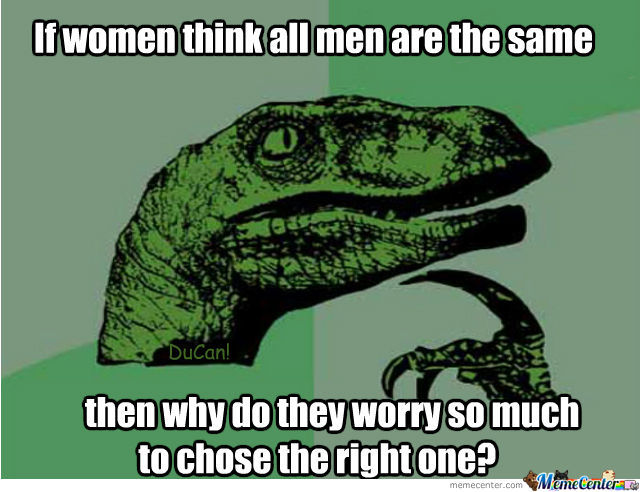 If All Men Are The Same