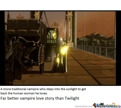 A Better Human-Vampire Love Story Than Twilight
