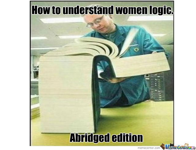 A Book For Women Logic