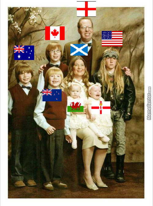 A British Family Portrait, South Africa Wasn't Invited