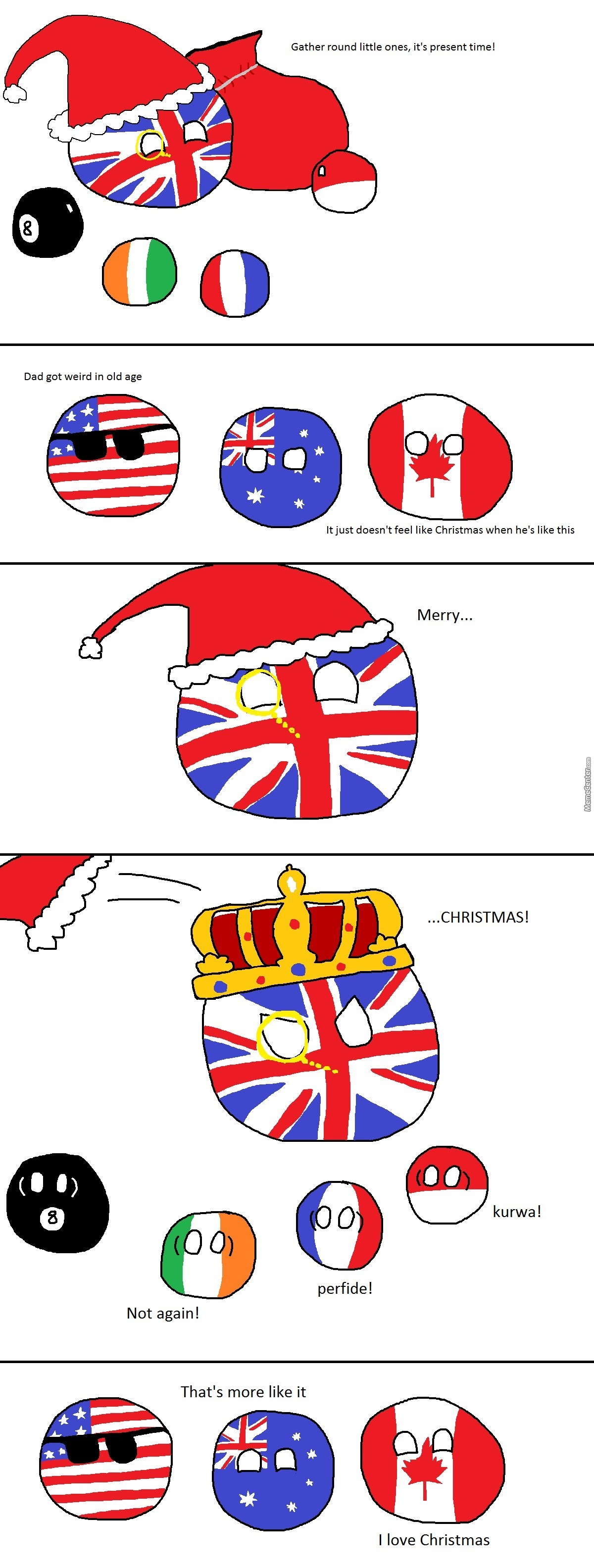 A British Kind Of Christmas by bloatarder - Meme Center