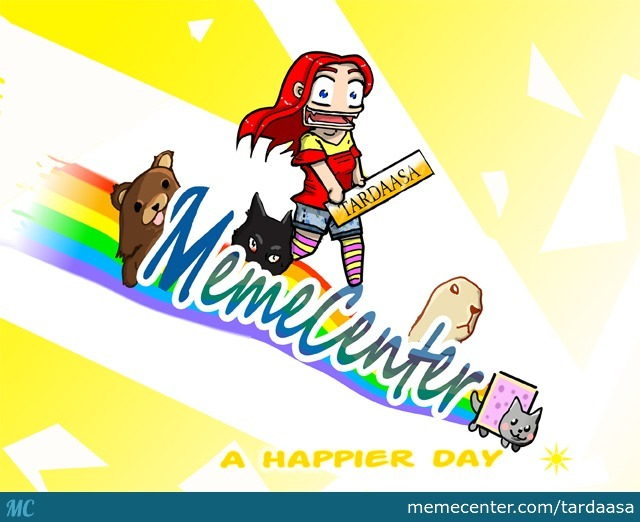 A Celebration Pic For Memecenter For Being Awesome :)