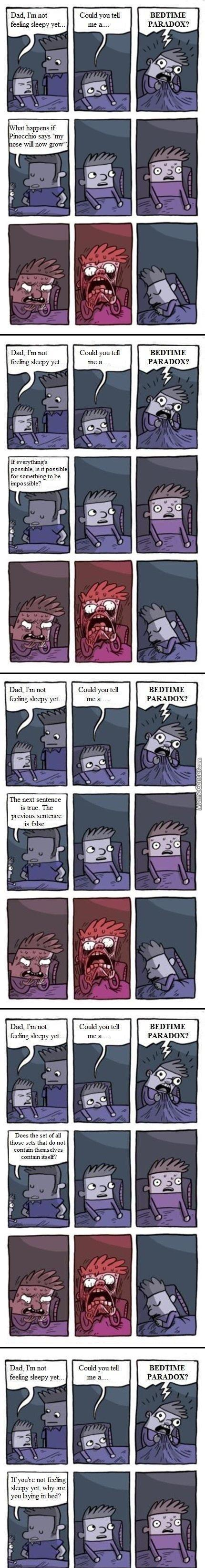 A Collection Of Bedtime Paradoxes