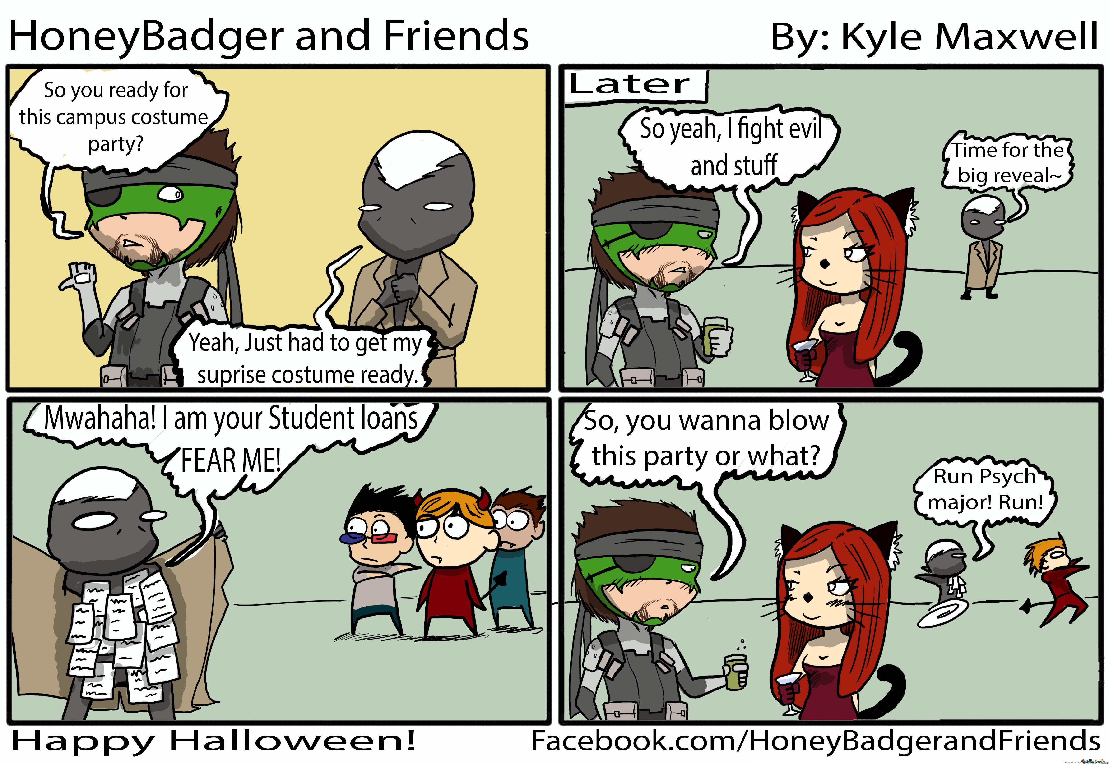 A College Student's Worst Nightmare- Happy Halloween! by ...