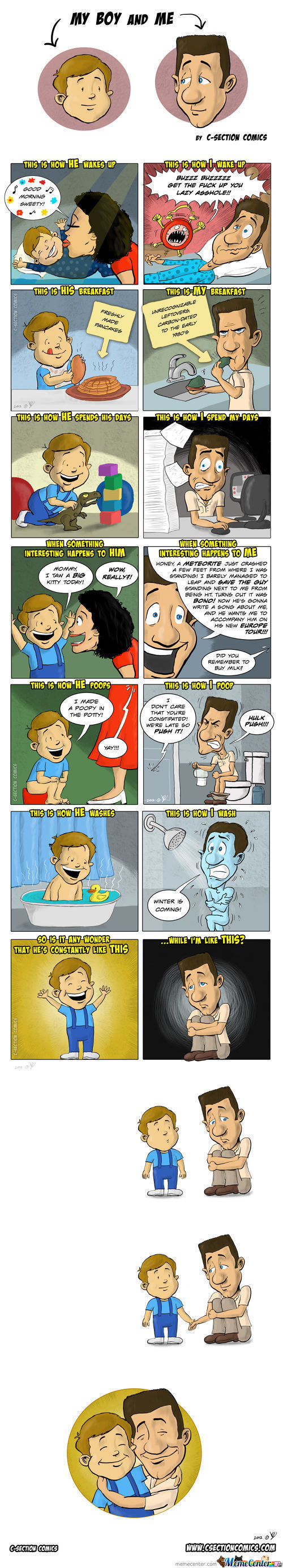 A Comic About Being A Dad... Happy Father's Day!