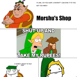 a day in morshu amp 039 s shop_fb_6058055 a day in morshu's shop by tent2 meme center,Morshu Meme