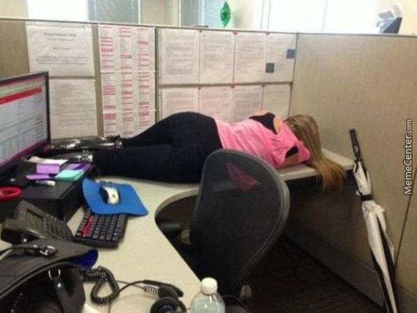 A Discrete Way To Sleep At Work