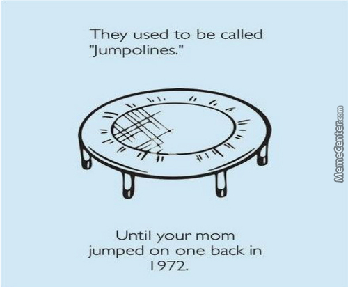 A Fact About Trampolines