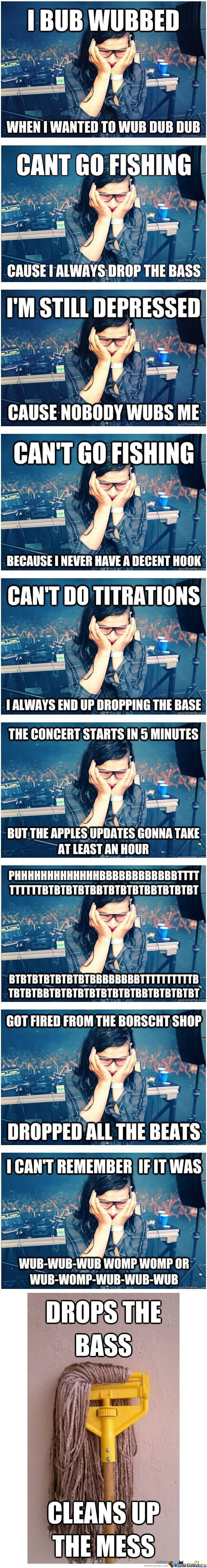 A Few Examples Of The All New Sad Skrillex Meme
