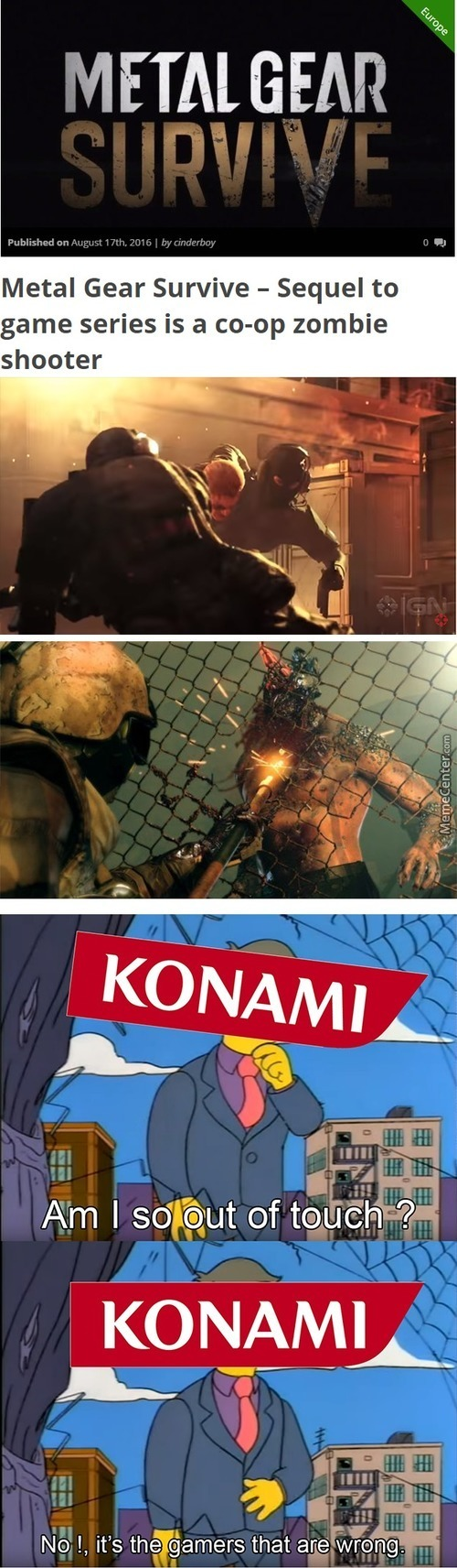A Game To Destroy Metal Gear