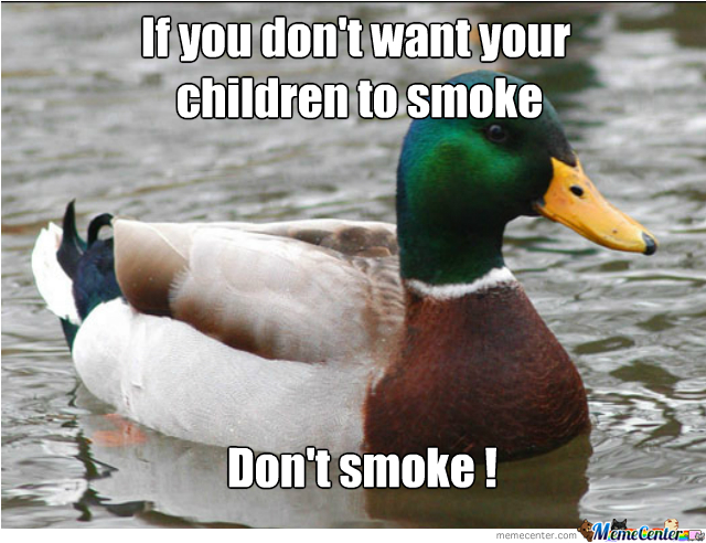 A Good Advise To Adults