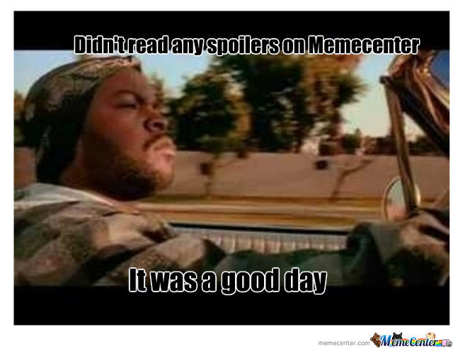 A Good Day Indeed
