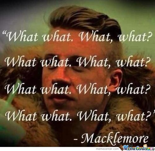 A Inspirational Quote From Macklemore