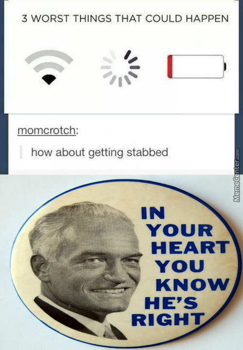 A Knife May Also Be In Your Heart