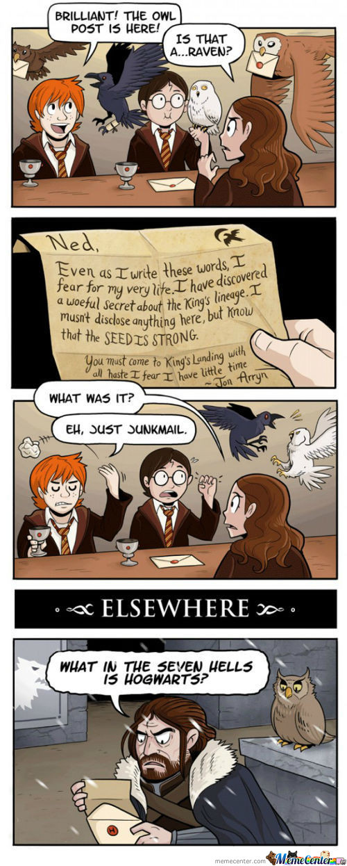 A Letter From Hogwarts