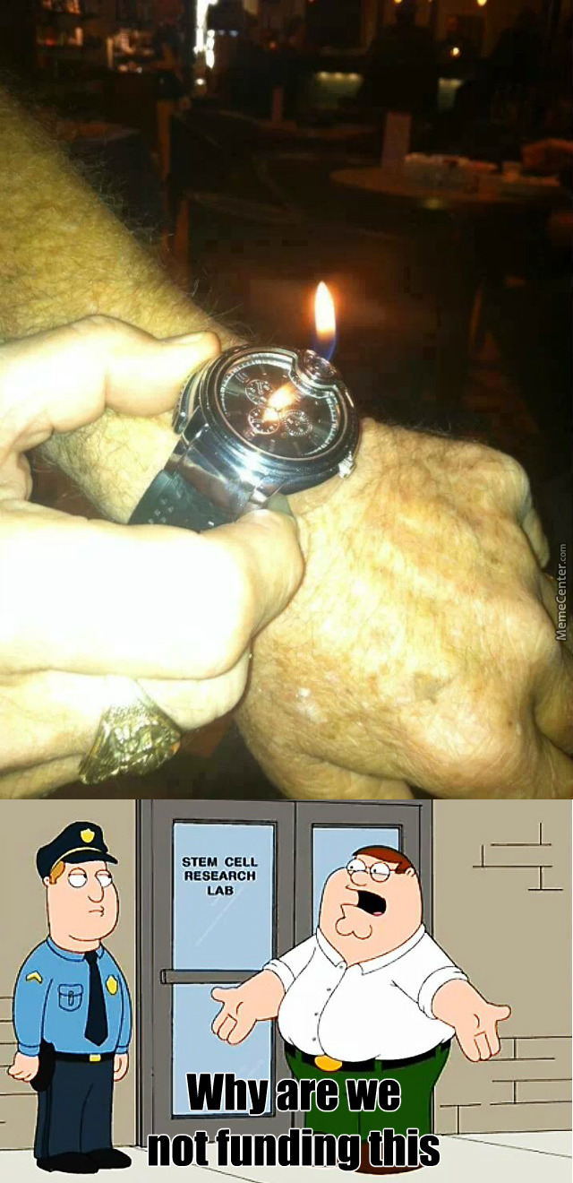 A Lighter Watch - You Could See The Time At Night And Fire Something