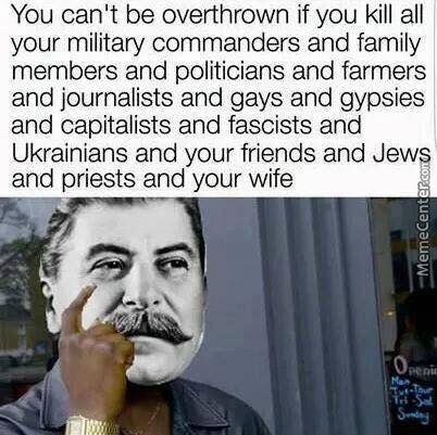 A Little Bit Of Paranoia Never Killed Anybody! Except Maybe Under Communism.