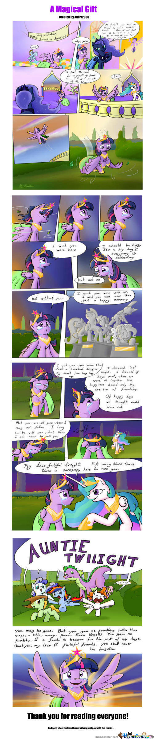 A Magical Gift.      (Warning,bronies Only)