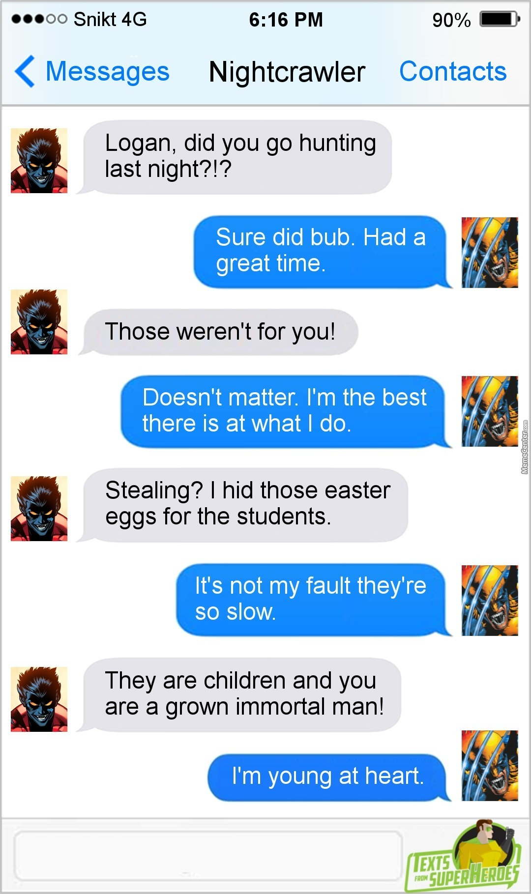 A Mutant Easter Egg Hunt? I'd Pay To Watch That