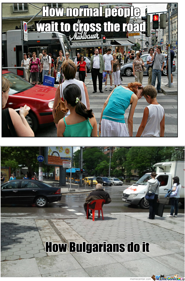 A Normal Day In Bulgaria