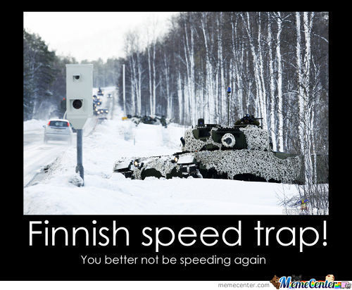 A Normal Day In Finland...