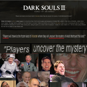 a normal player uncovering dark souls lore yeah not happening by