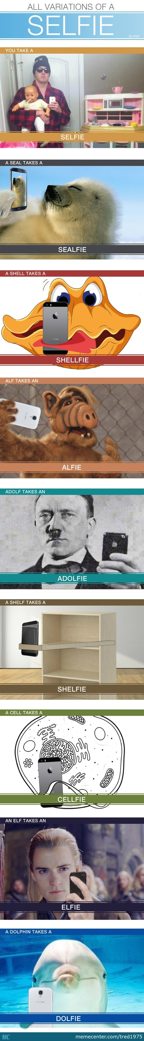 A Selfie Variation Guide