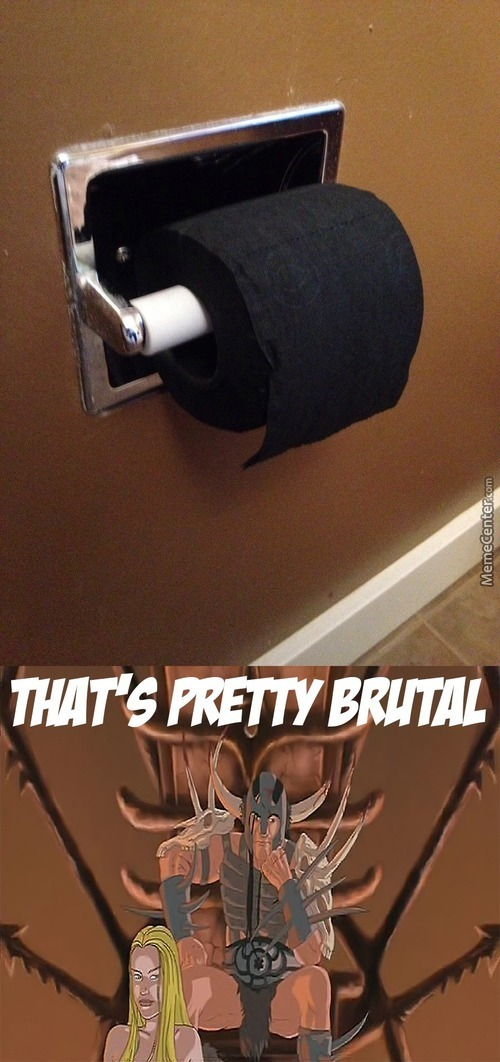 A Toilet Paper For The Metal Gods Throne
