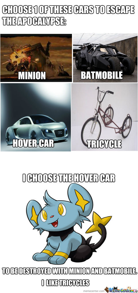 A Tricycle Is Not A Car