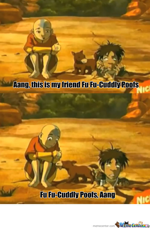 Aang This Is My Friend