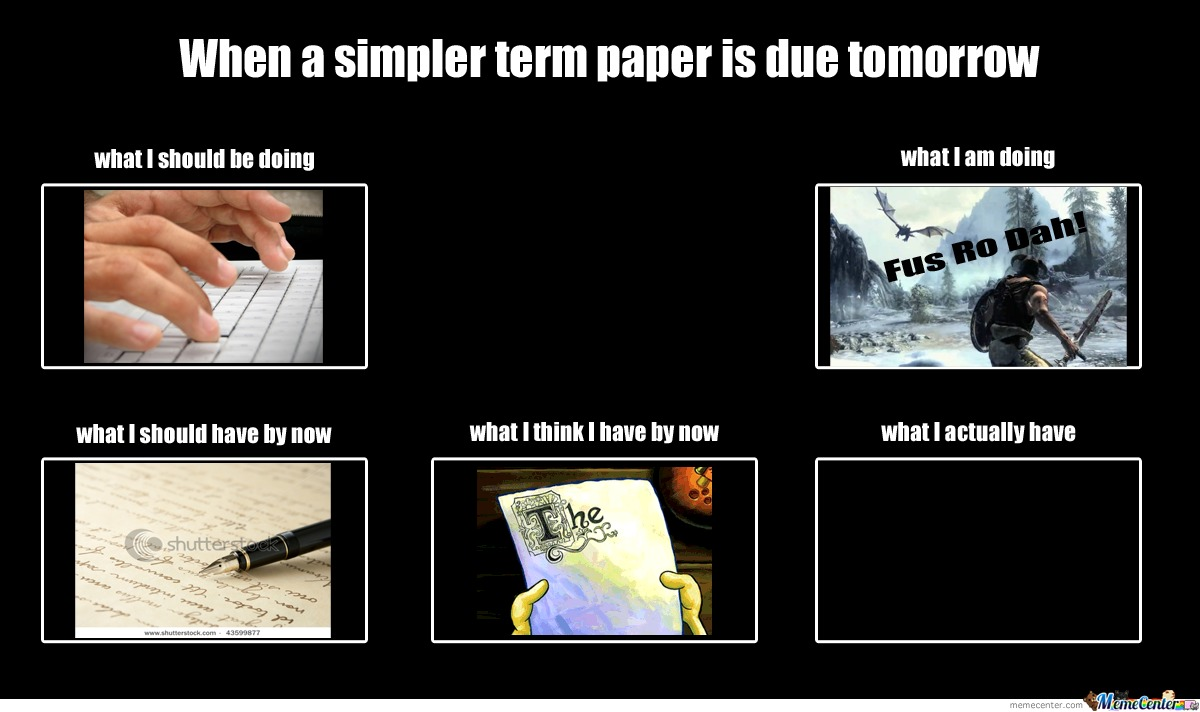 About Term Papers