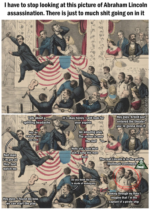 Abraham Lincoln The Assassination Picture
